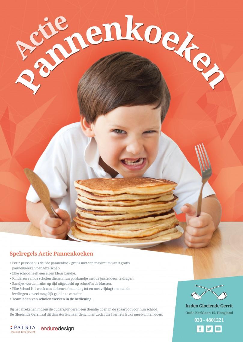 Poster Actie Pannenkoek